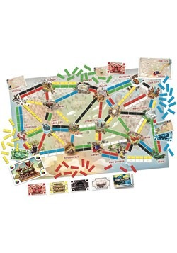 Ticket to Ride: First Journey Board Game1