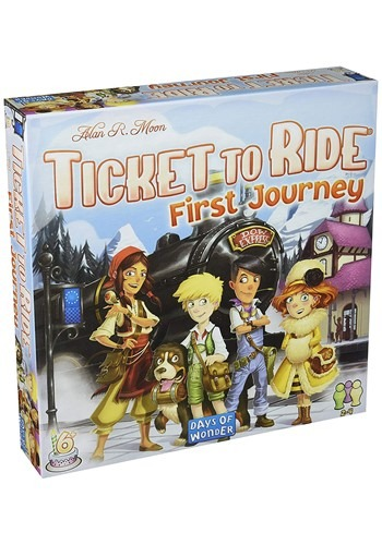 Ticket to Ride: Europe: First Journey Board Game