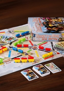 Ticket to Ride First Journey: Europe Edition Board Game3