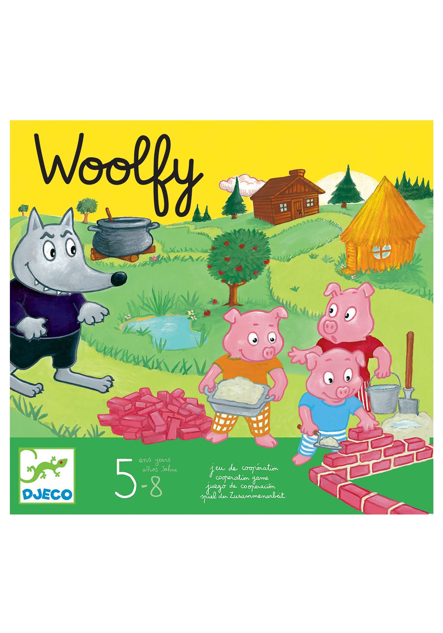 Djeco Woolfy Board Game