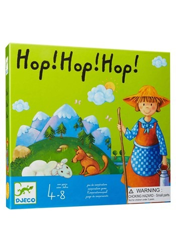 Hop! Hop! Hop! Djeco Board game