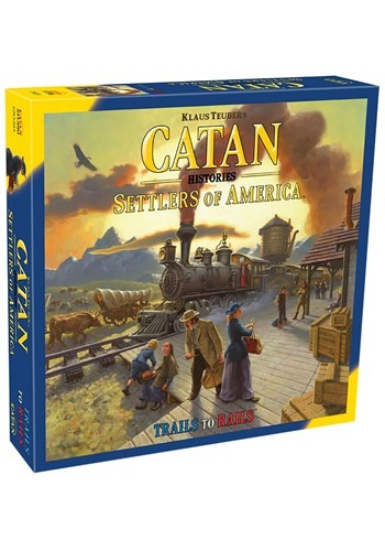 Settlers of America Catan Histories Board Game
