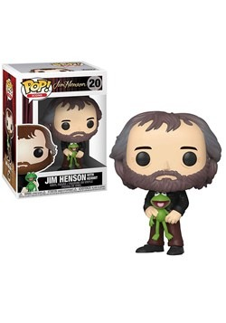 Pop! Icons Jim Henson with Kermit the Frog upd