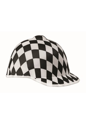 Black Checkered Jockey Hat1