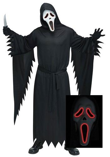 Plus Size Adult E.L. Ghost Face Costume update