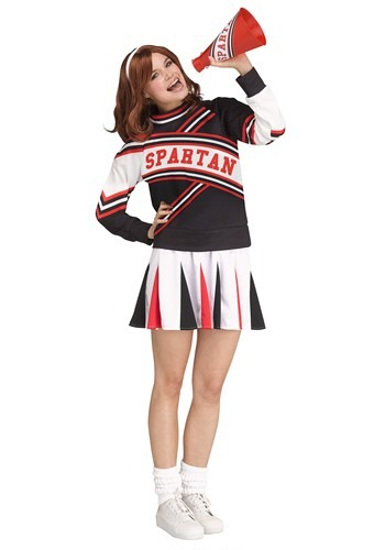 Saturday Night Live Women's Spartan Cheerleader Costume