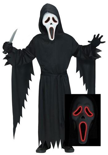 Men's E.L Ghost Face Costume update