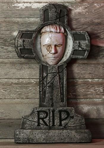 Halloween Michael Myers Tombstone Update