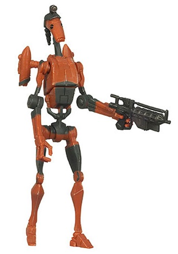 Rocket Battle Droid Action Figure CW03