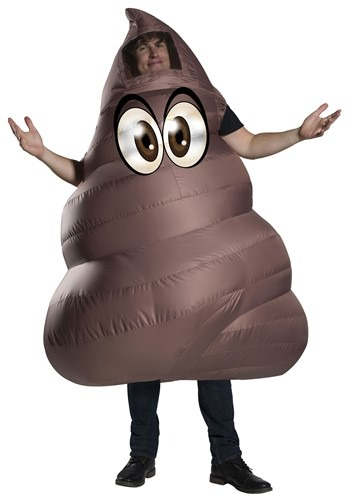 Inflatable Poop Adult's Costume