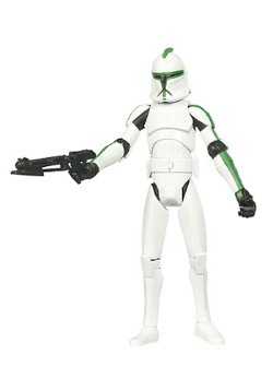 41st Elite Corps Clone Trooper Action Figure - CW04