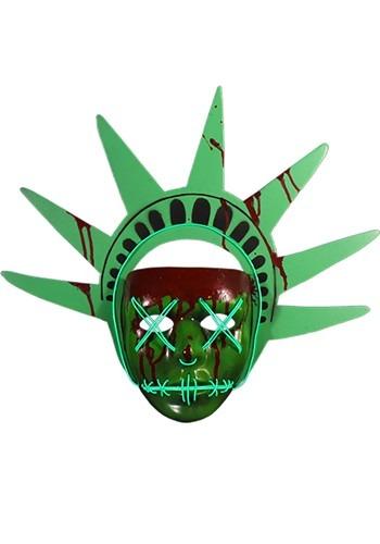 Lady Liberty Light Up Mask The Purge