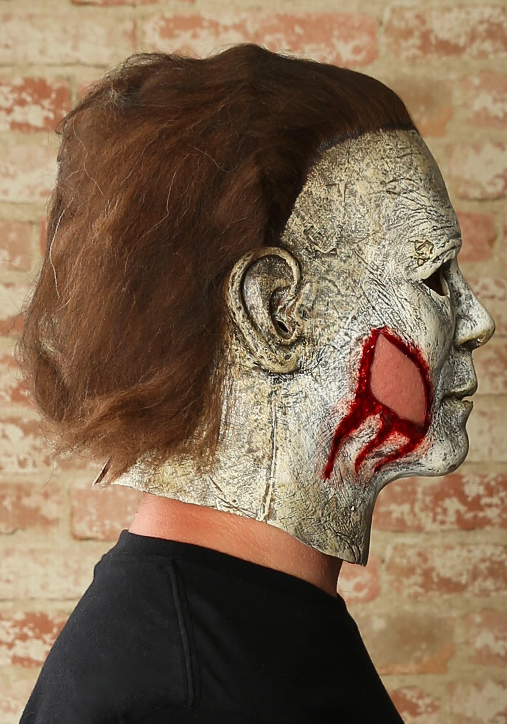 Halloween 2018 Michael Myers Mask.Michael Myers Final Battle Mask Halloween 2018