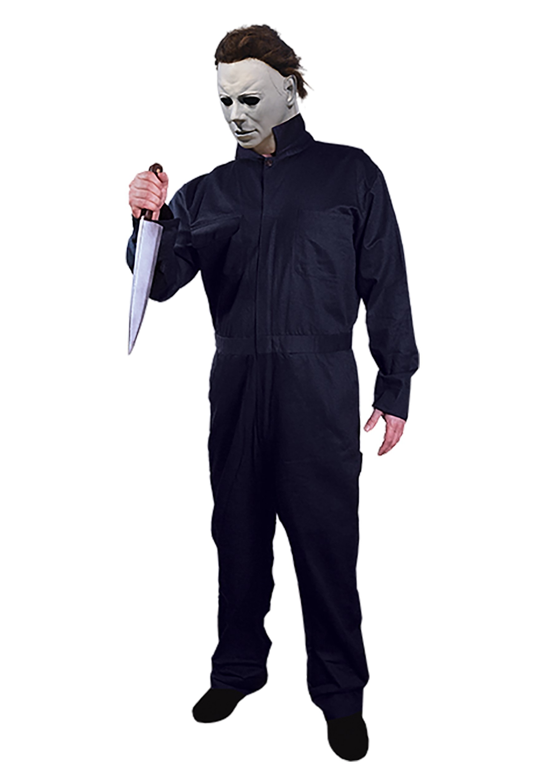 Color Of Michael Myers Coveralls In Halloween 2020 Halloween Michael Myers Adult Costume
