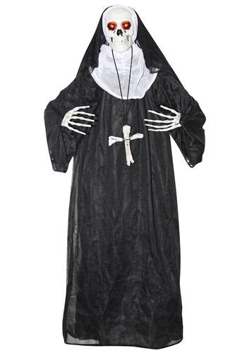 Animated Nun Prop Halloween Decor