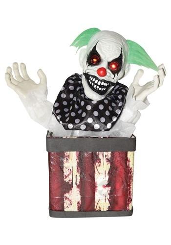 Halloween Animated Clown in Box