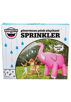 Ginormous Pink Elephant Sprinkler new main