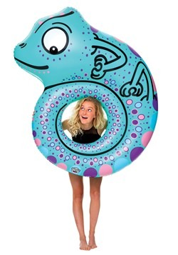 Giant Chameleon Pool Float