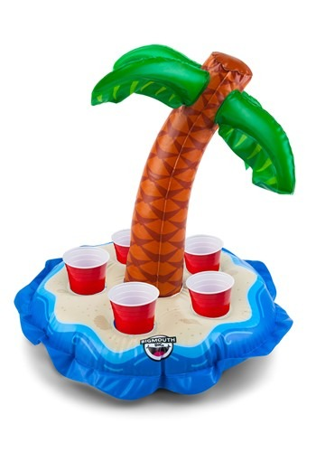 Floating Beverage Boat Palm Tree update1