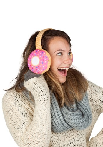 Donut Ear Muffs for Adults