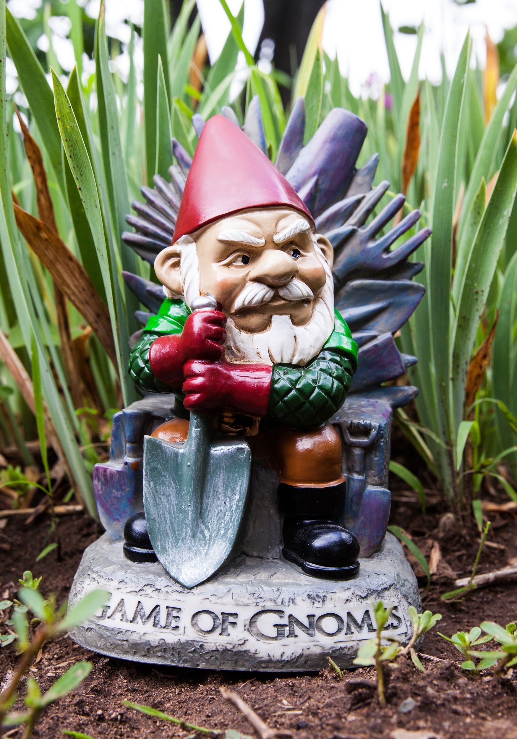 Gnome Garden: Game Of Gnomes Garden Gnome Statue