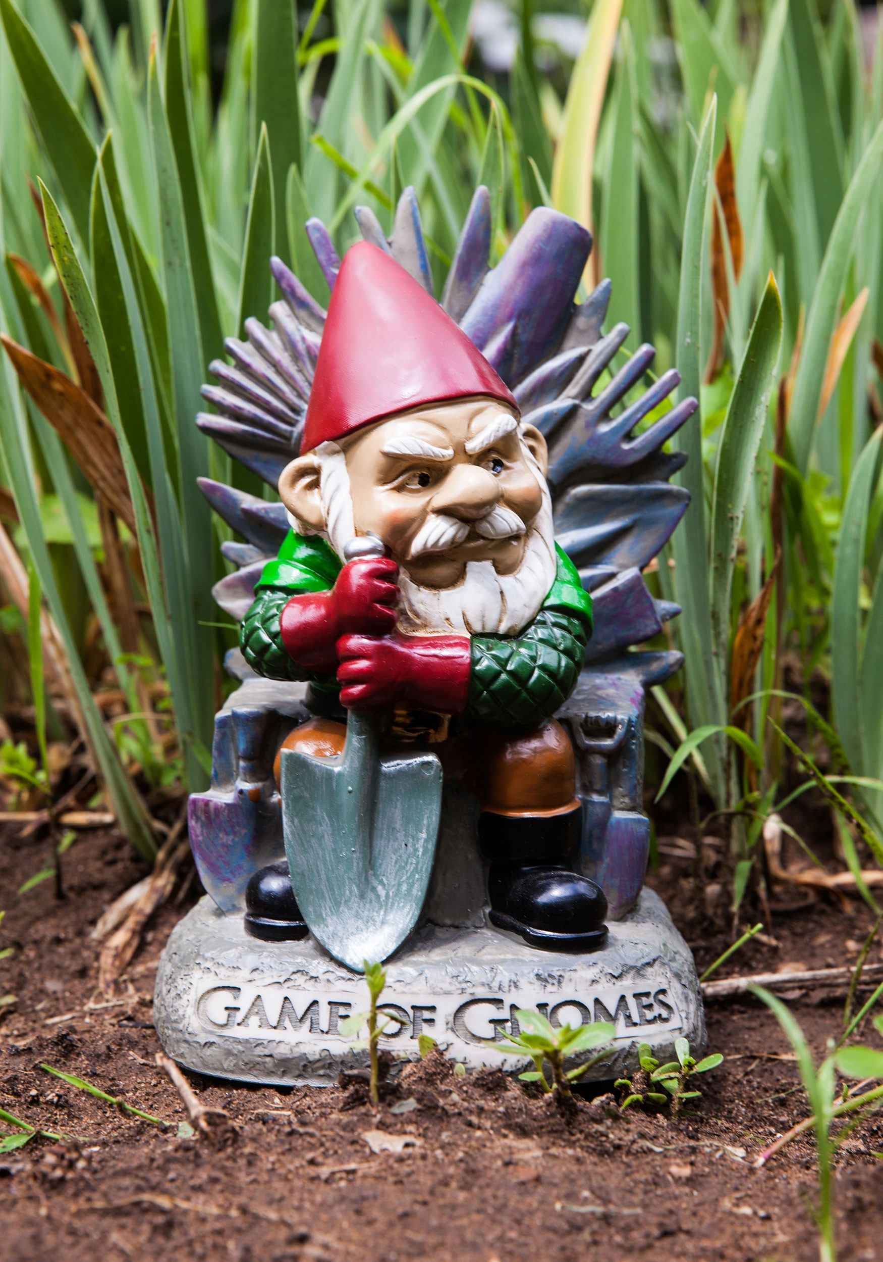 Www Garden Gonme: Game Of Gnomes Garden Gnome Statue