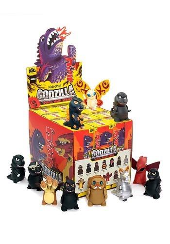 Kidrobot Godzilla Mini Series Blindbox Figure