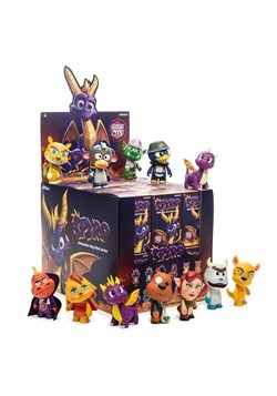 Kidrobot Spyro Mini Blindbox Series Figure