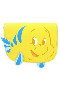 Loungefly The Little Mermiad Flounder Saffiano Fau
