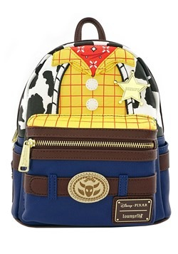 Loungefly Toy Story Sheriff Woody Faux Leather Mini Backpack