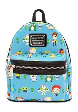 Loungefly Toy Story Character Print Faux Leather Mini Backpa