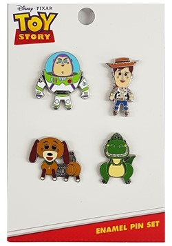 Loungefly Toy Story 4 Pack Enamel Pin Set