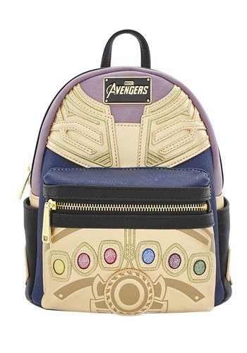 Marvel Thanos Faux Leather Mini Backpack from Loungefly