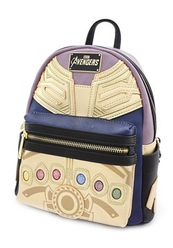 Loungefly Marvel Thanos Faux Mini Backpack Alt 1