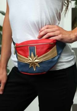 Loungefly Captain Marvel Faux Leather Fannypack