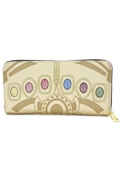 Loungefly Marvel Infinity Gauntlet Faux Leather Zip Wallet1