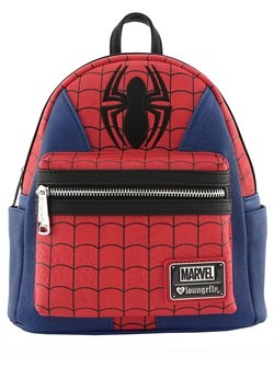 Loungefly Marvel Spider-Man Faux Leather Mini Backpack