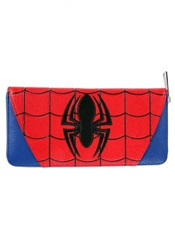 Loungefly Marvel Spider-Man Faux Leather Zip Aroun