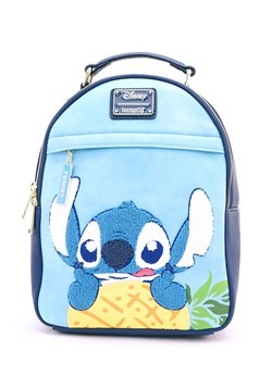 Loungefly: Stitch & Pinneapple Faux Leather Mini Backpack