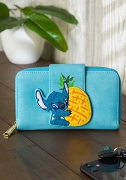 Loungefly Stitch & Pinneapple Faux Leather Mini Wallet
