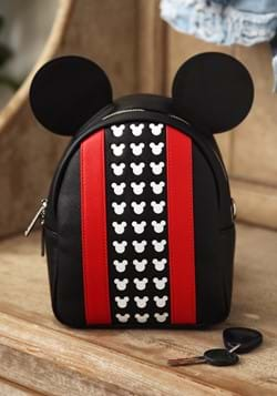 Loungefly Mickey Mouse Faux Leather Mini Backpack 1