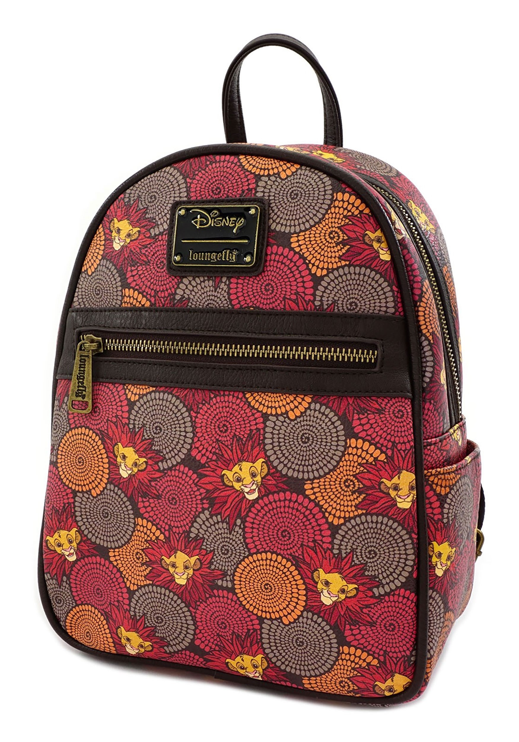 Loungefly Mini Backpack Disney's Lion King Faux Leather