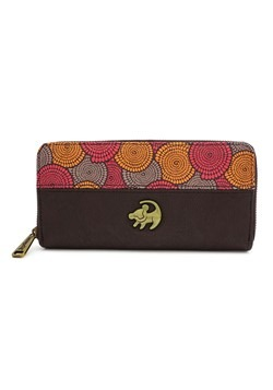 Loungefly Disney's Lion King Faux Leather Zip Around Wallet