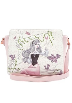 Loungefly Sleeping Beauty Aurora Faux Leather Handbag