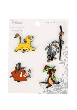 Loungefly Disney's Lion King 4 Pack Enamel Pin Set