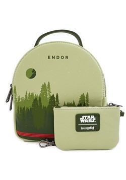 Loungefly Star Wars Endor Faux Leather Mini Backpa