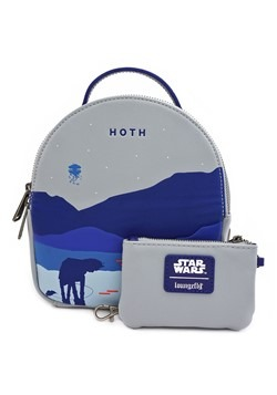 Loungefly Star Wars Hoth Faux Leather Mini Backpac