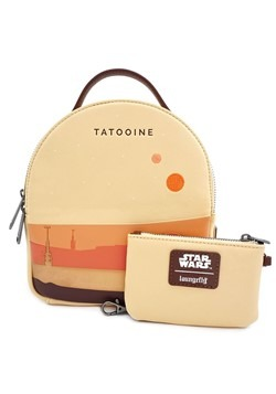 Loungefly Star Wars Tatooine Faux Leather Mini Bac