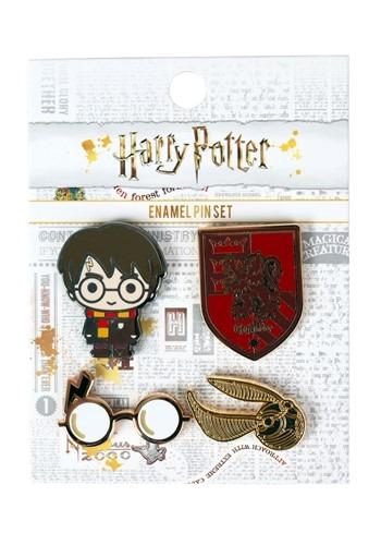 Loungefly Harry Potter 4 Pack Enamel Pin Set