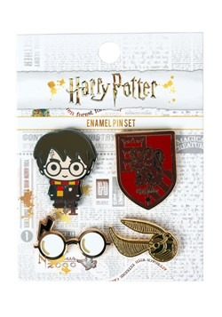Loungefly Harry Potter 4 Pack Enamel Pin Set